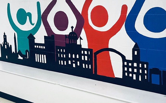 YMCA. City Mural