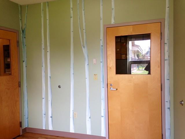 Wall Mural. S.Hebert Office.
