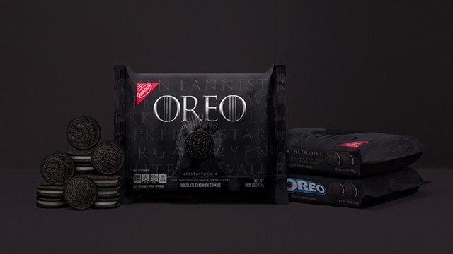 Game of Thrones x Oreo package design: Brian Gartside photography: Ben Rosenzweig