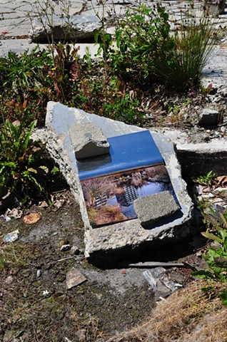 Phat Mart False Creek Development with Rock: installed view