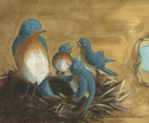 Blue Birds Over In The Meadow - Pioneer Valley Books