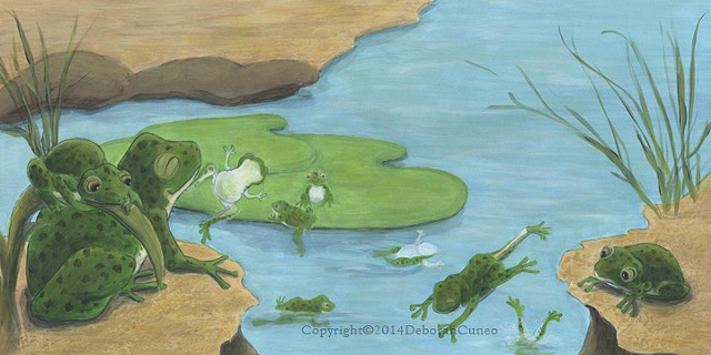 Frogs Over In The Meadow - Pioneer Valley Books
