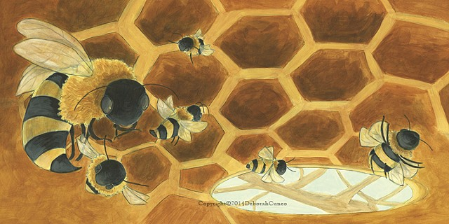 Bees  Over In The Meadow - Pioneer Valley Books