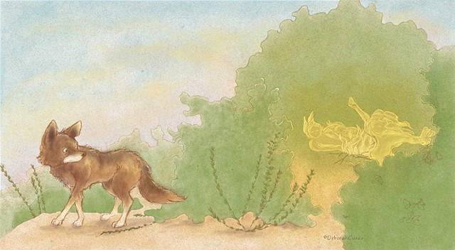 How The Coyote Brought Fire to the People - Pioneer Valley Educational Press 2017