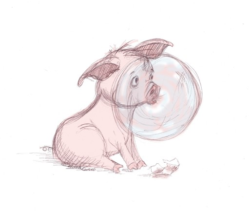Pig and Bubble