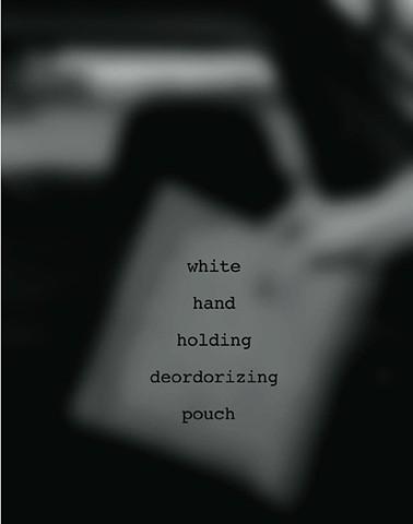 white hand .....