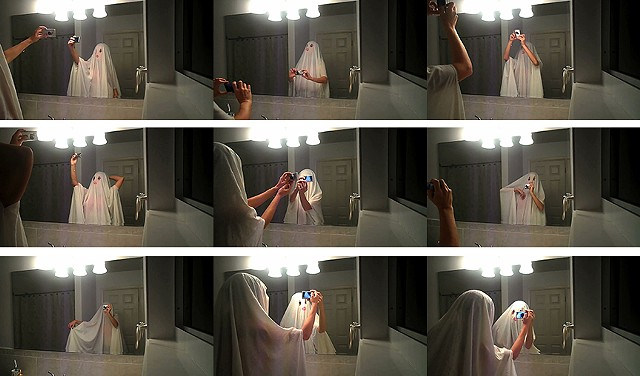 Ghost Selfies bulbs on (Stills)