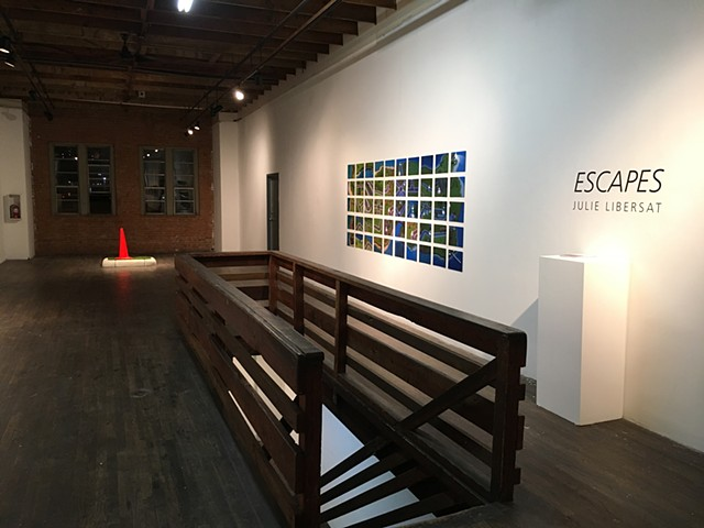 Escapes, installation view