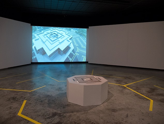 Paved Paradise (installation view)