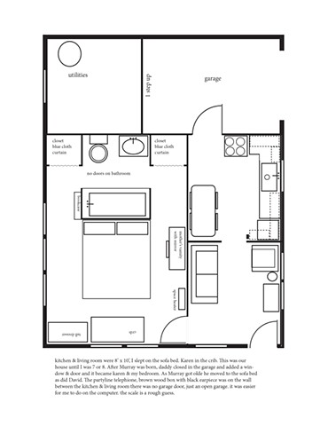 Hurricane House - Barbara's Floorplan 1