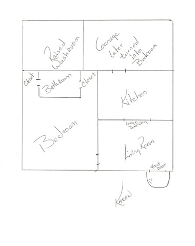 Hurricane House - Karen's Floorplan