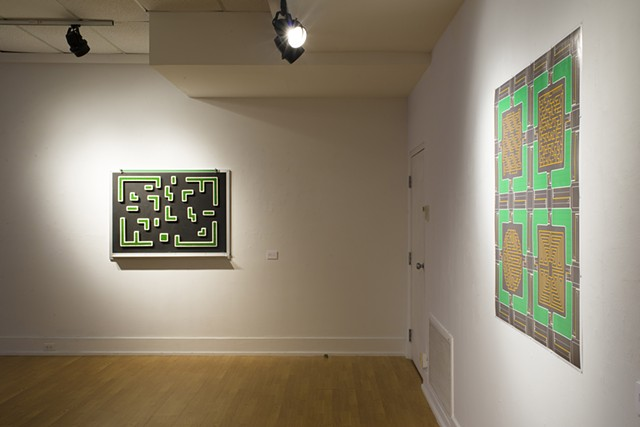 No Exit, installation view