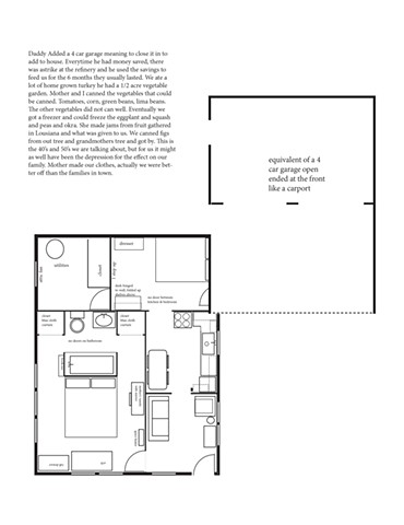 Hurricane House - Barbara's Floorplan