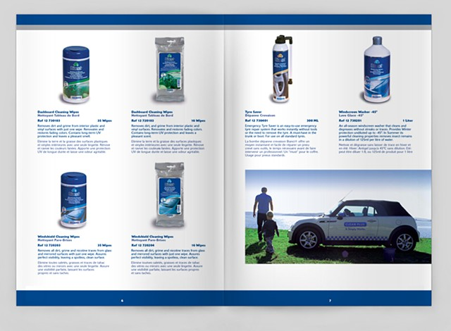 Bianci Catalog, Design and Layout