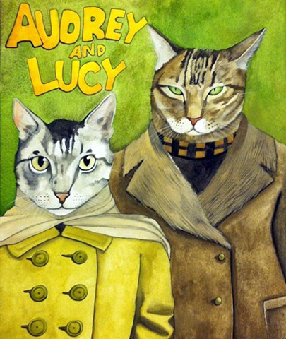 Audrey & Lucy