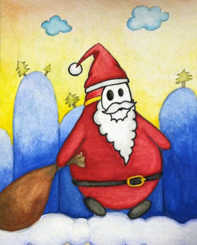 Shy Guy Claus is Coming to Town