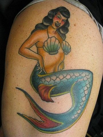 Bettie Paige Mermaid