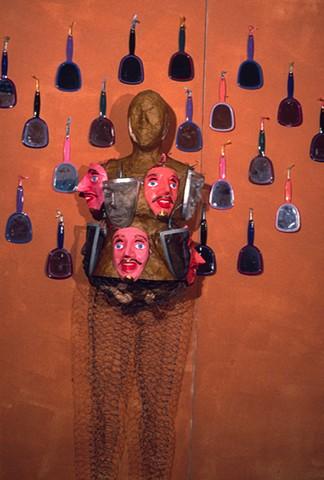 Marina Gutierrez - Mestiza Mask Rack / BodyMask Series