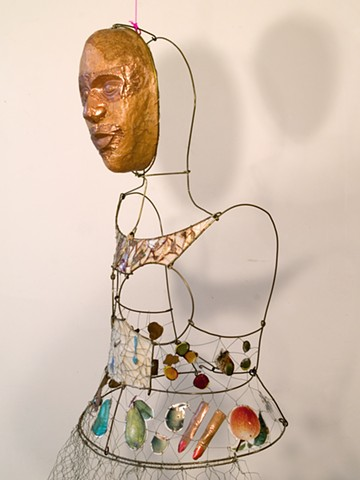 Marina Gutierrez - Conjure Dress / Body Mask Series
