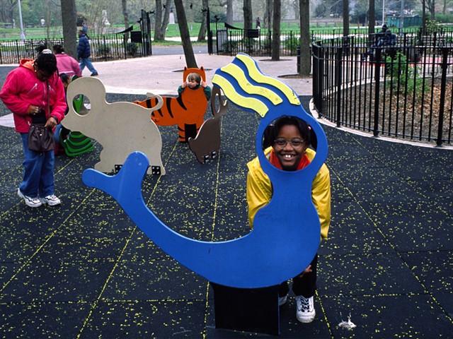 Marina Gutierrez Imagination Playground, Prospect Park Bklyn  play furniture