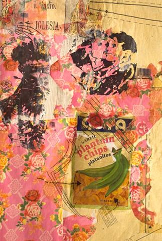 Marina Gutierrez - Casita 3 - wall detail -plantain chips
