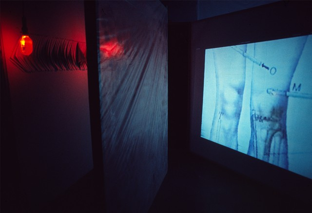 Marina Gutierrez - Redrum For Amadu / Video Installation