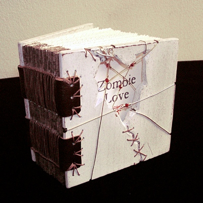 Zombie Love Book - Side view