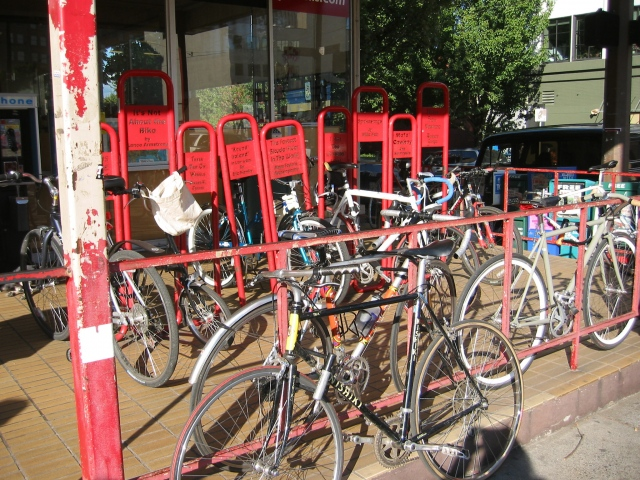 Bike Parking Lot