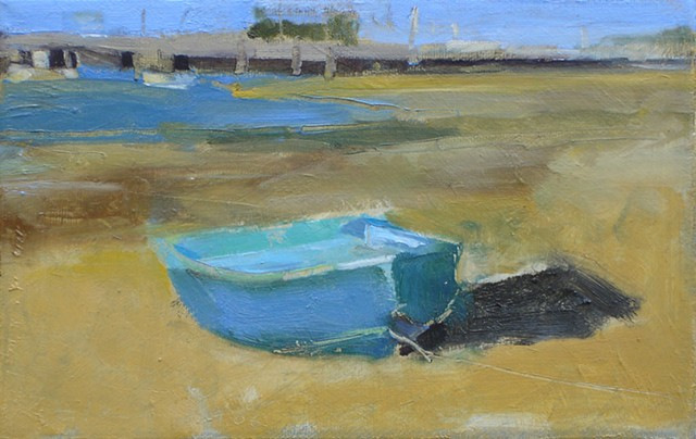 Blue Boat, Provincetown