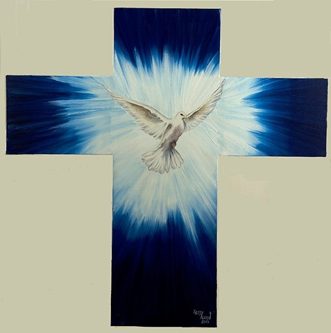 Holy Spirit, cross, religion, Christianity, Trinity