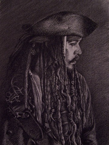 Jack Sparrow, Pirate, Johnny Depp, pirates of the caribbean