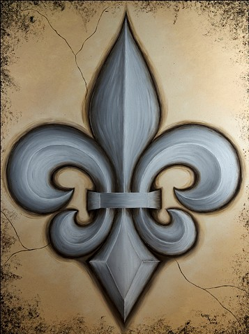 Fleur de lis, New Orleans, Saints, Louisiana