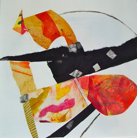 Rooted/ Mixed Media Collage IV