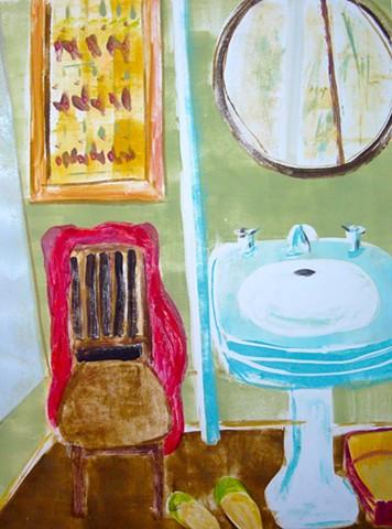 Esther's bathroom