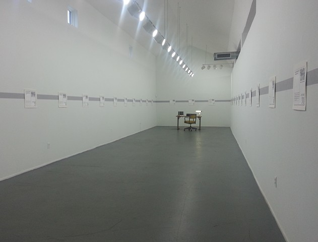 This Disposable Day Desk Calendar exhibition view