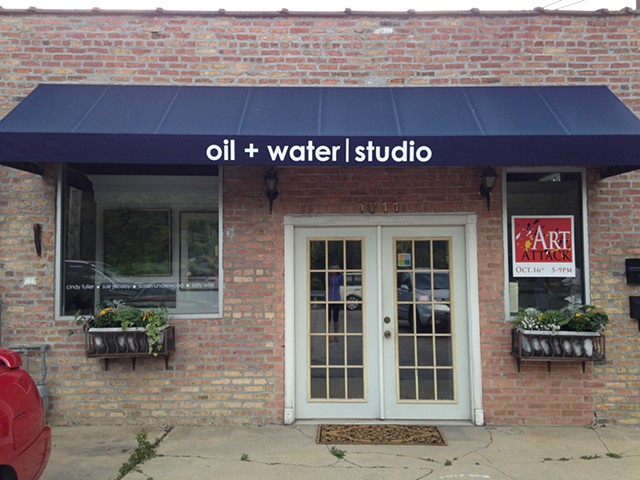 Art studio in Winnetka IL