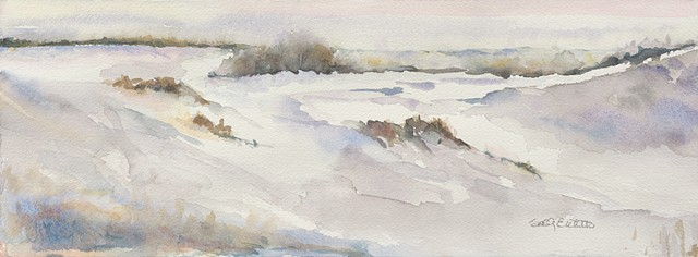 Dunes in winter