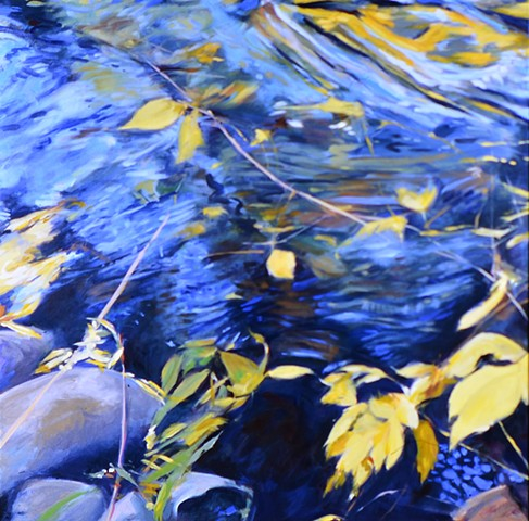 Terrell S. Minton, Oil On Canvas, Boulder, CO Art, Painting
