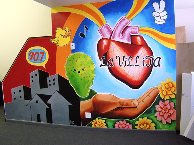 Vocalo Mural