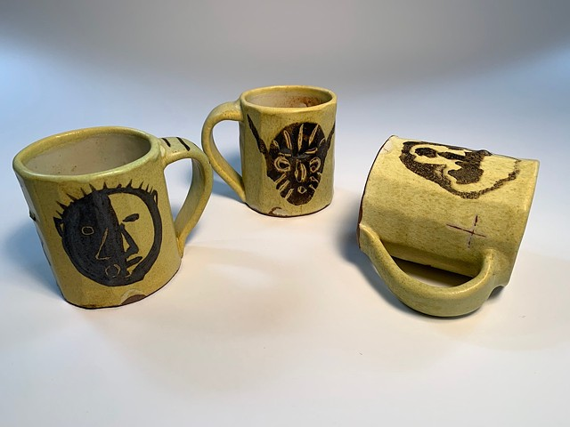 Short Hand Drawn Cups