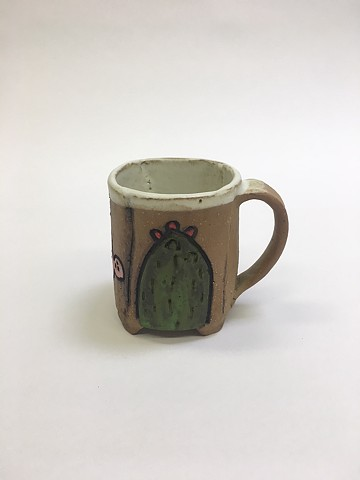 Cup w/ Carvings #1 (view 3)