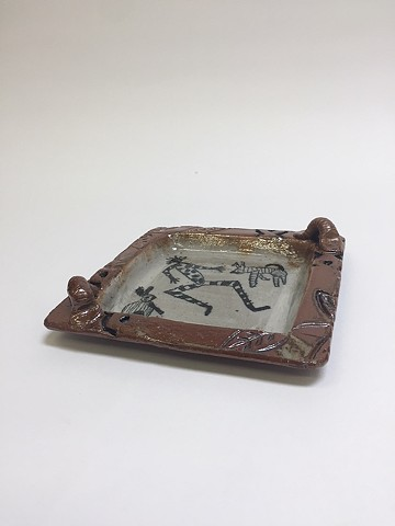 Hand Drawn Tray w/ Texture (view 1)
