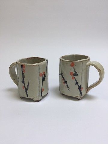 Hand Drawn Cups (Orange)