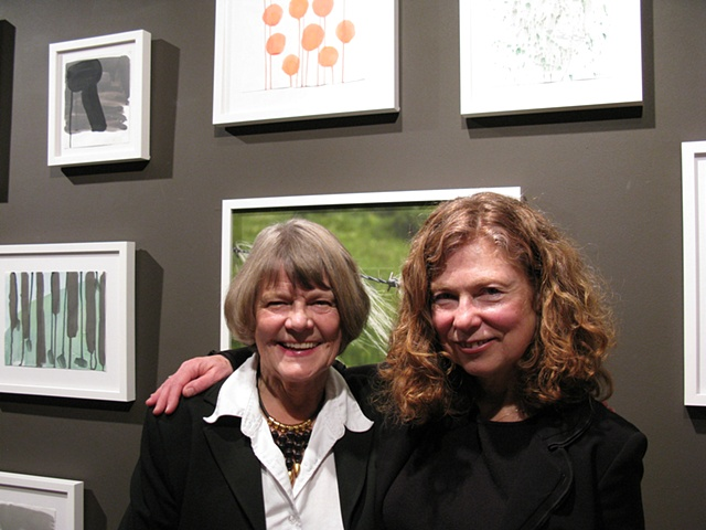 Sandra with Marianne Forssblad, former Director
