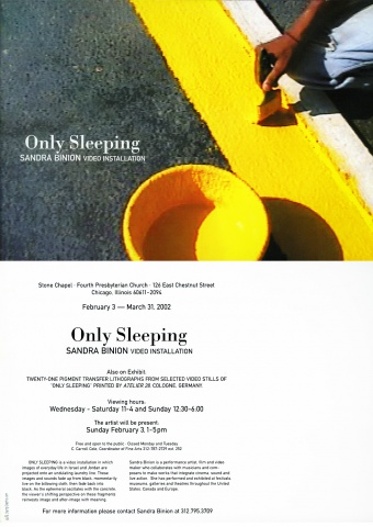 Only Sleeping - Postcard