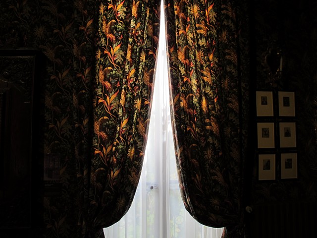 Victor Hugo designed curtains