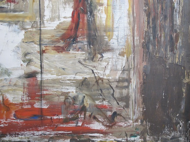 detail of a Gustave Moreau painting