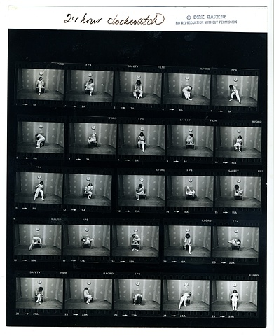 Clock:Watch 24-Hour Contact Sheet