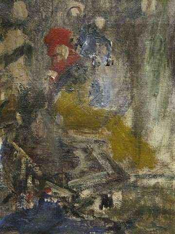 Detail from 'The Triumph of Alexander the Great' by Gustave Moreau