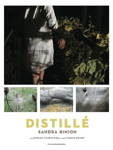 Promotional poster for DISTILLÉ